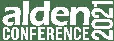 Alden Conference 2021 Logo White