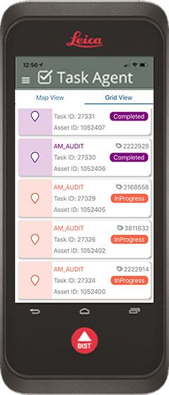 Display Tasks in Grid View